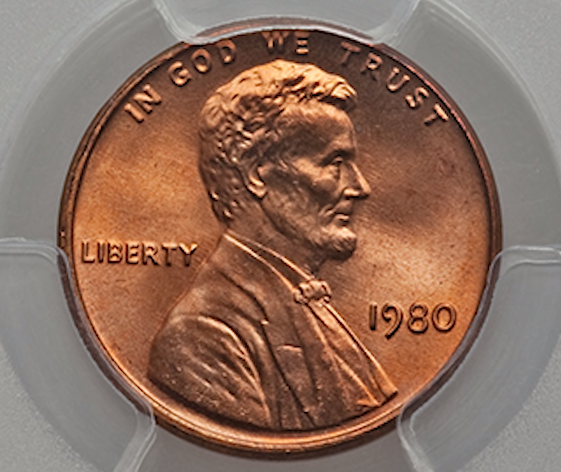 1980 penny value