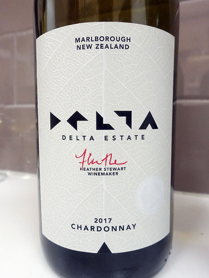Delta Estate Chardonnay 2017 (89 pts)
