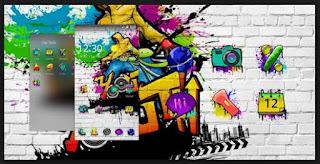 tema graffiti android