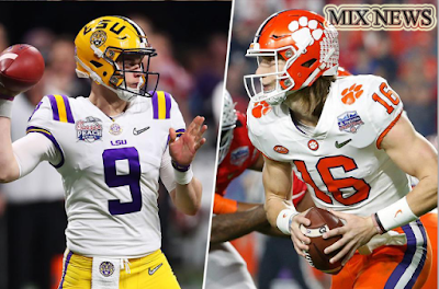 LSU, Clemson,live stream,watch online,TV channel,kickoff time,natio,game 2020nal championship,