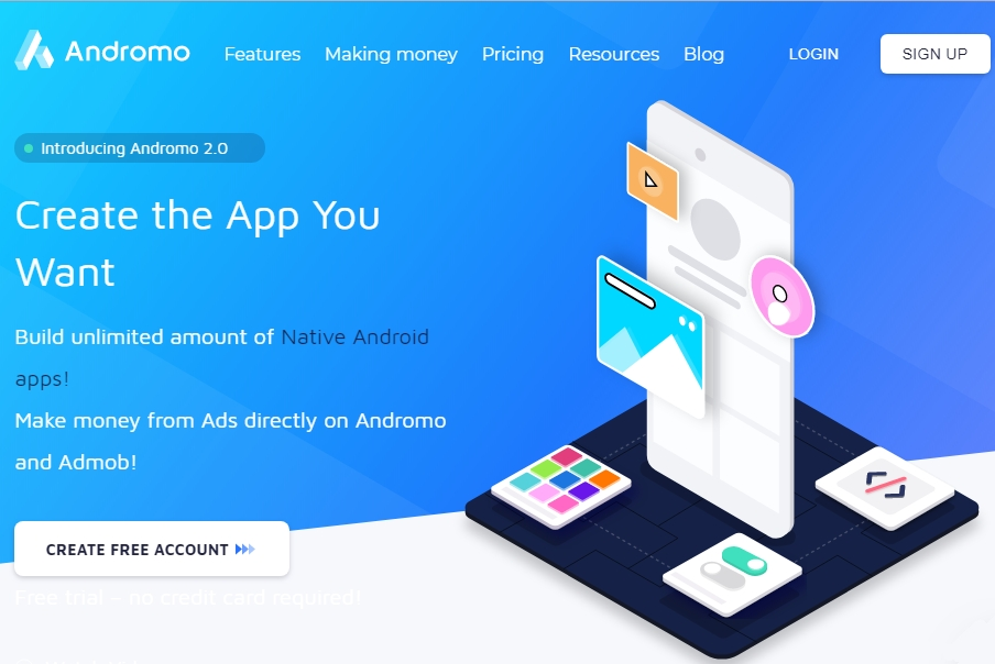 Software Untuk Membuat Aplikasi Android Tanpa Coding - ANGOPS