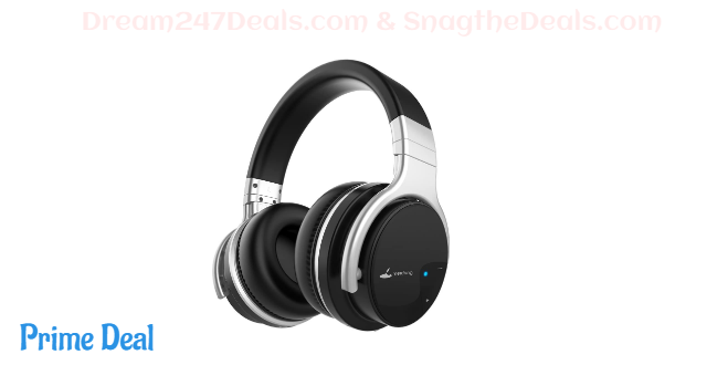 71%OFF Meidong E7B Active Noise Cancelling Headphones Wireless Bluetooth Headphones with Microphone