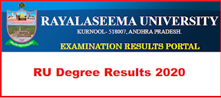 Manabadi RU Degree Results 2020