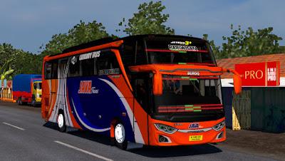 Livery Java Trans for Jetbus 3+ SHD HINO RK8 Adudu Cvt Diny V1 by Fayaz