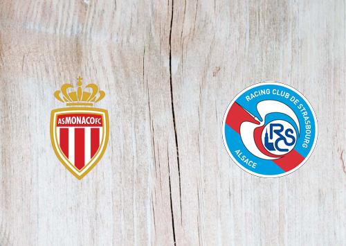 Monaco vs Strasbourg -Highlights 25 January 2020