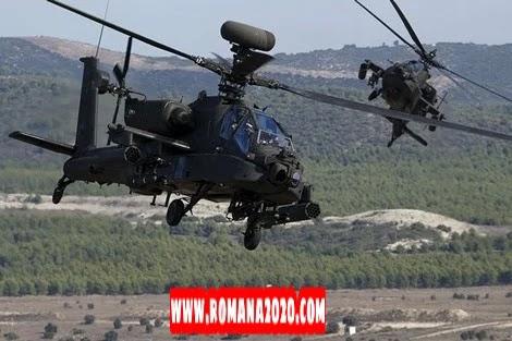 أخبار المغرب: القوات المسلحة الملكية تقتني 24 مروحية أباتشي عسكرية متطورة