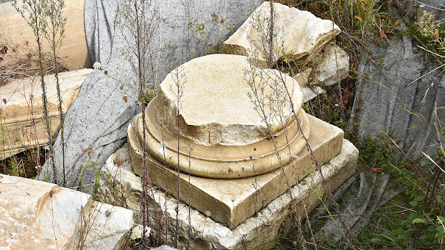 Ruins of temples found in ancient Amastris