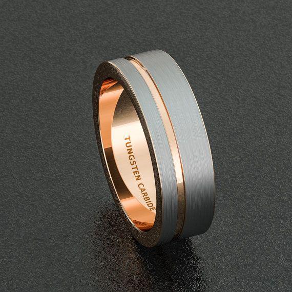 Tungsten Mens Wedding Rings