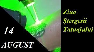 14 august: Ziua Ștergerii Tatuajului