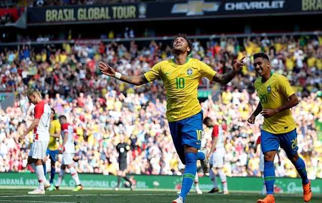 Candaan Modric ke Neymar