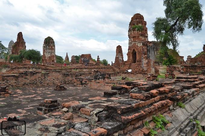 Ayutthaya - pozostałości tajskiej świetności