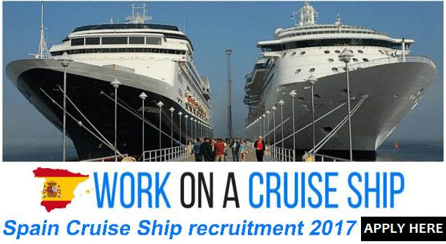 Spain Cruise Ship Recruitment Apply Now All Gulf Vacancy - Cruise ship nurse salary