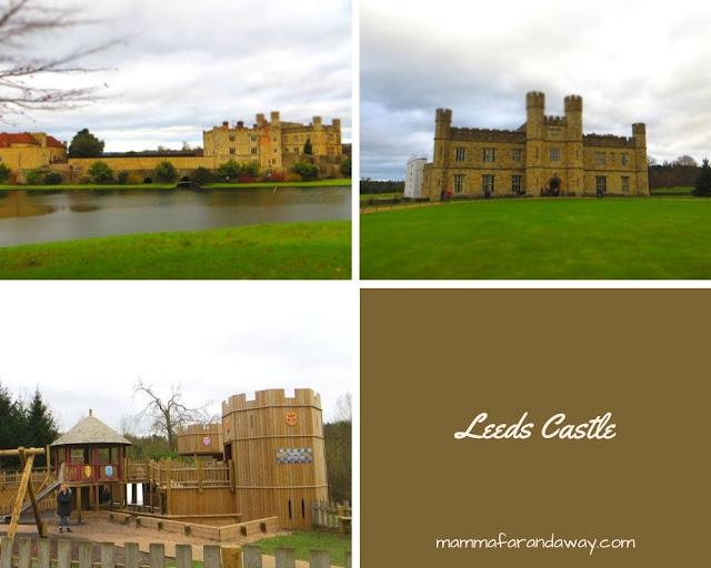castello di leeds inghilterra