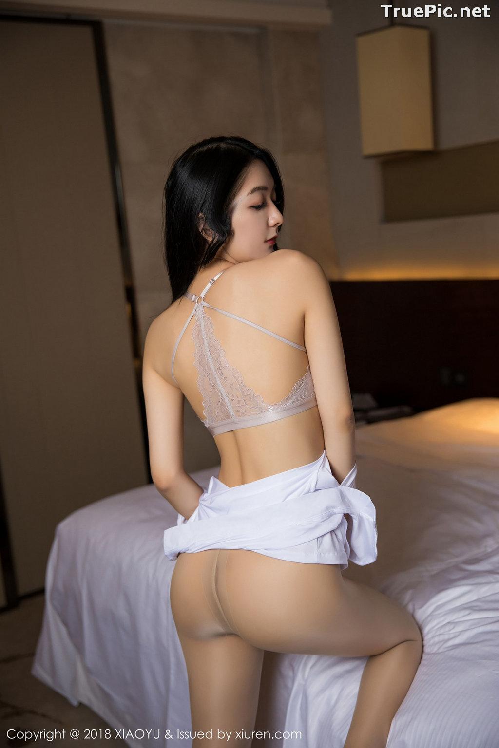 Image XiaoYu No.004 - Chinese Model - Xiao Reba (Angela喜欢猫) - White Sexy Nurse - TruePic.net - Picture-40