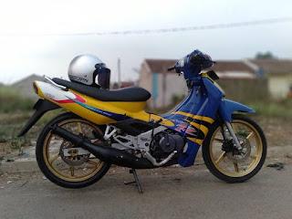 harga motor second Suzuki
