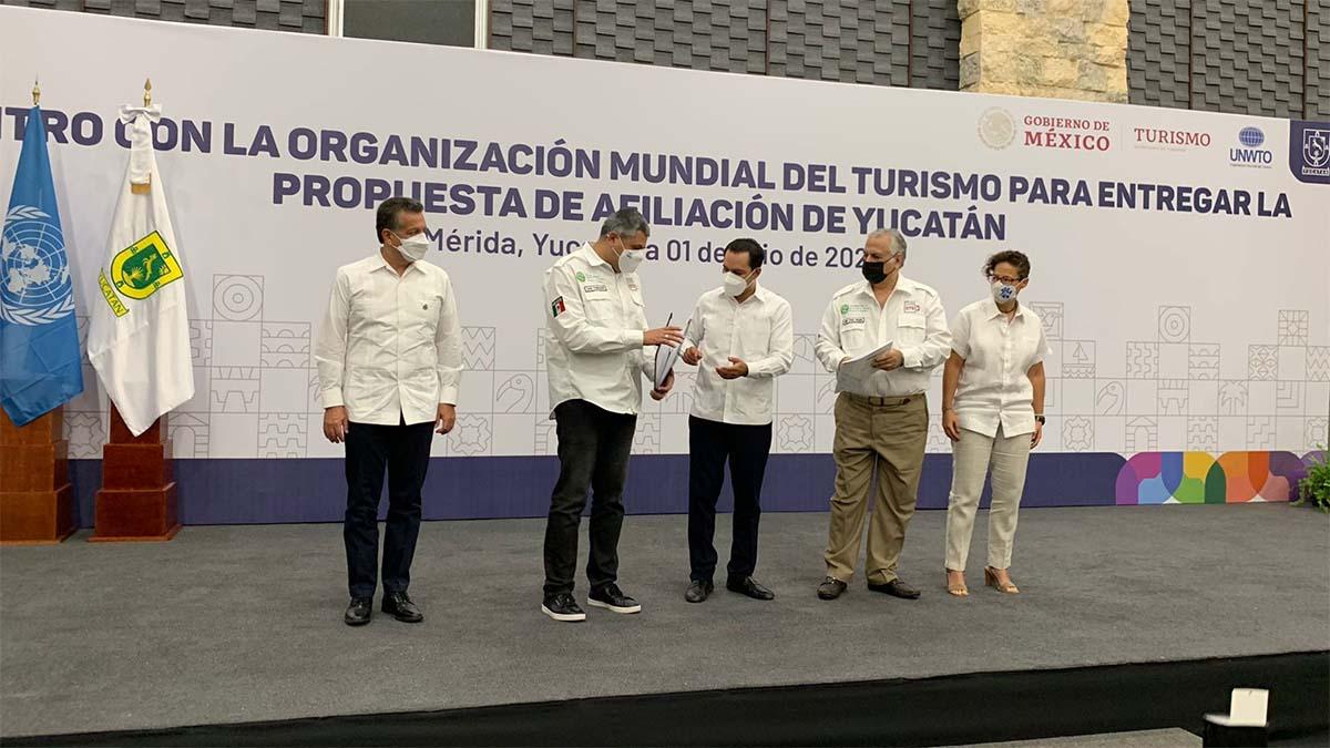 YUCATÁN PRESENTA SOLICITUD AFILIARSE OMT 01