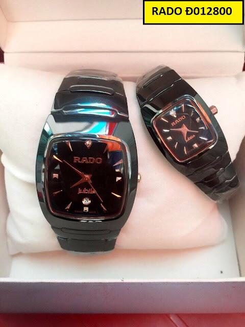 Đồng hồ nam mặt vuông Rado Đ012800