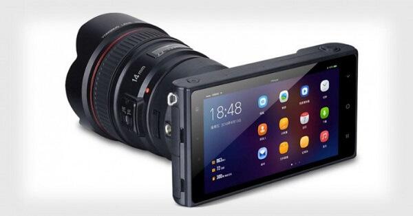 كاميرا جديدة بدون مرايا تعمل بنظام الأندرويد وتدعم عدسات كانون