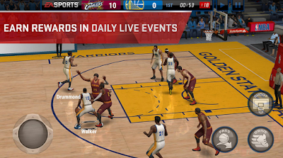 Gratis Game Basket untuk HP – NBA Live Mobile APK