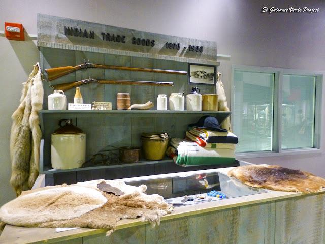 Objetos de Comercio con los Lakota - Akta Lakota Museum