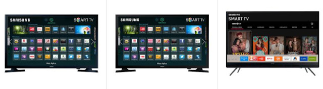 "Comprar Smart TV LED 43"" Samsung Full HD Conversor Digital 2 HDMI 1 USB"