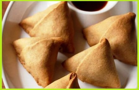 Samosa in Microwave Oven Recipe
