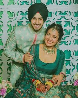 RohanPreet Singh Weeding Mehandi Celebration