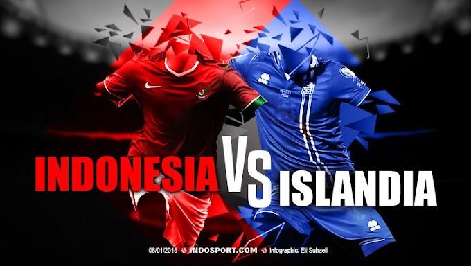 Pertandingan Perdana Timnas Indonesia VS Timnas Islandia