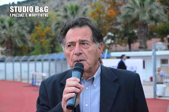 Γ. Αποστολόπουλος: Η Περιφέρεια Πελοποννήσου, με προτάσεις του Γ. Μαντζούνη στηρίζει τις αθλητικές υποδομές και τους συλλόγους