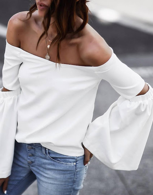 beauty white top