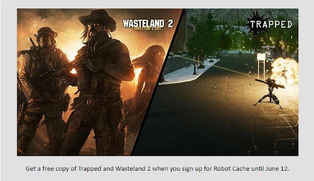 Game gratis Wasteland 2 dan Trapped dari RobotCache