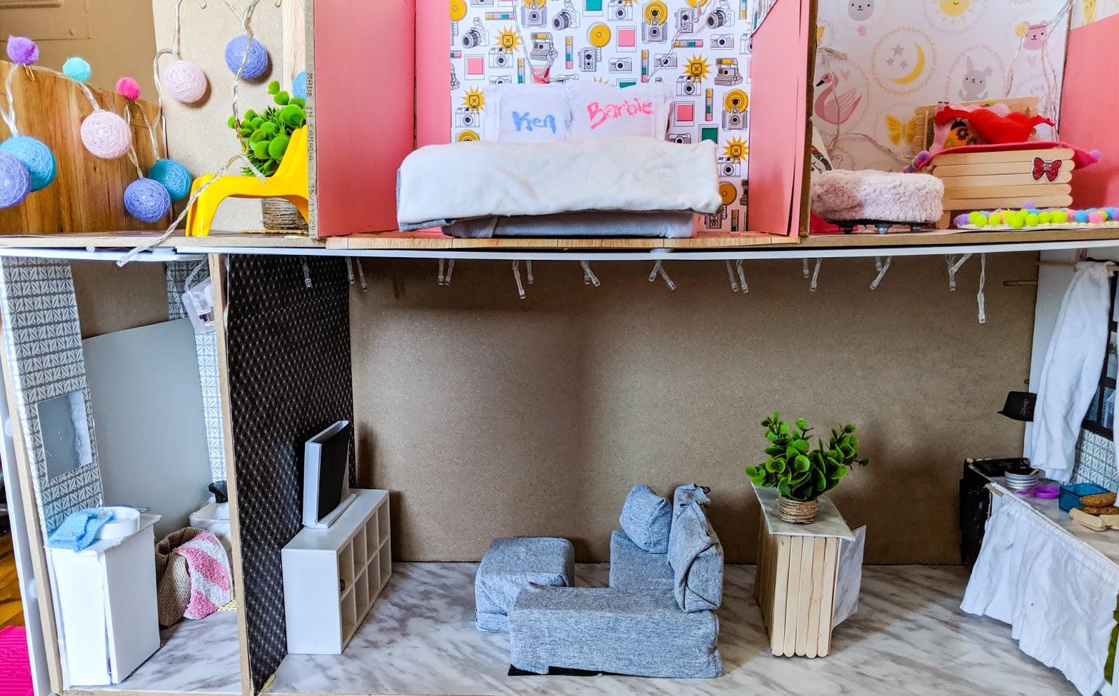 Maison De Barbie J Ai Construit Une Maison De Barbie Etre Radieuse Par Josianne Brousseau Etre Radieuse