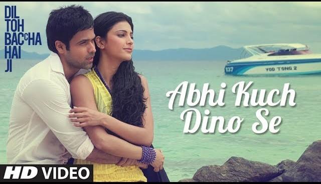 Abhi kuch dino se lyrics-dil to baccha hai ji