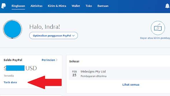 Tutorial Lengkap Paypal Bagian 3 Cara Tarik Uang Dari Paypal Ke Bank Lokal Indonesia Sinauyuk