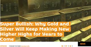 국제 금 시세 전망 : 대상승장세 2030년까지 4800달러