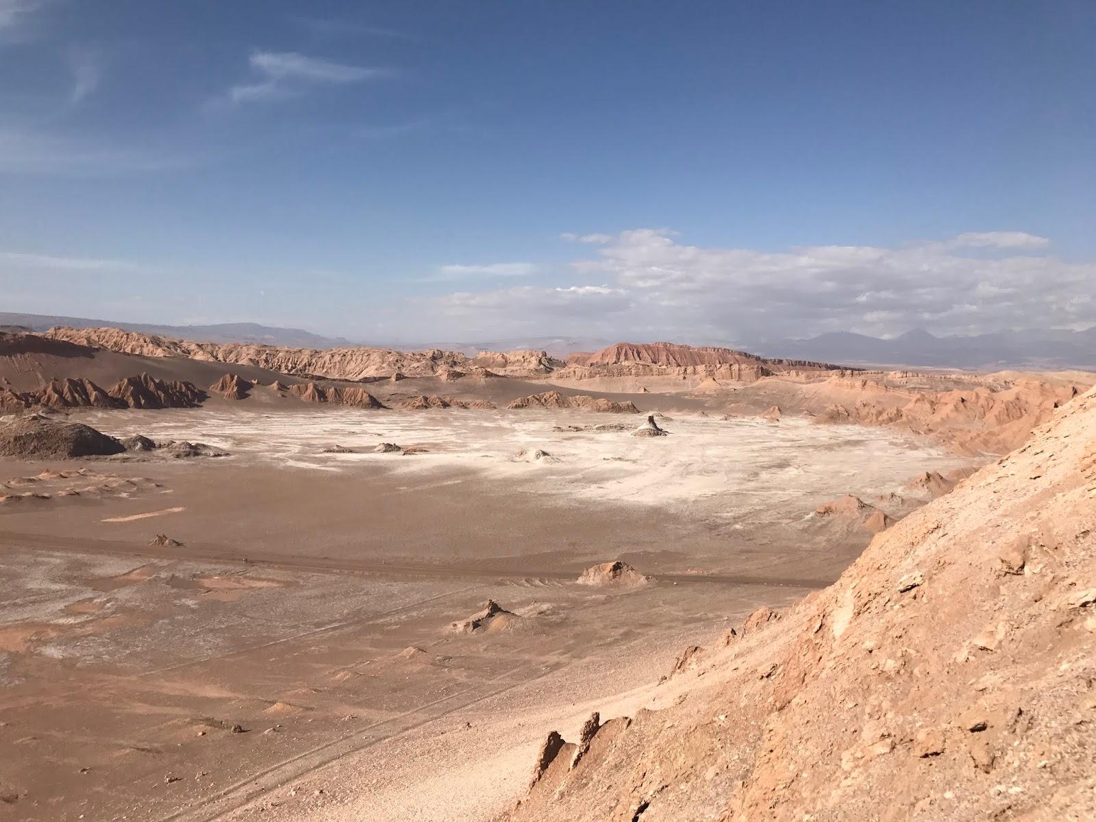 Vale de la Luna - Deserto do Atacama - Chile