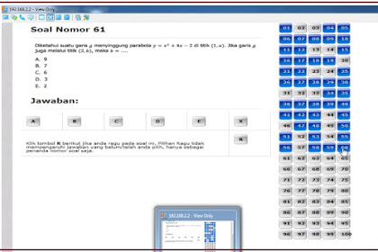 SOAL BAHAS SIMULASI TEST UP PPG ONLINE (GURU MATEMATIKA)