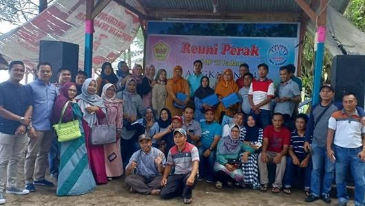 Delma Putra Harapkan Alumni SMP 15 Padang Jaga Kekompakan
