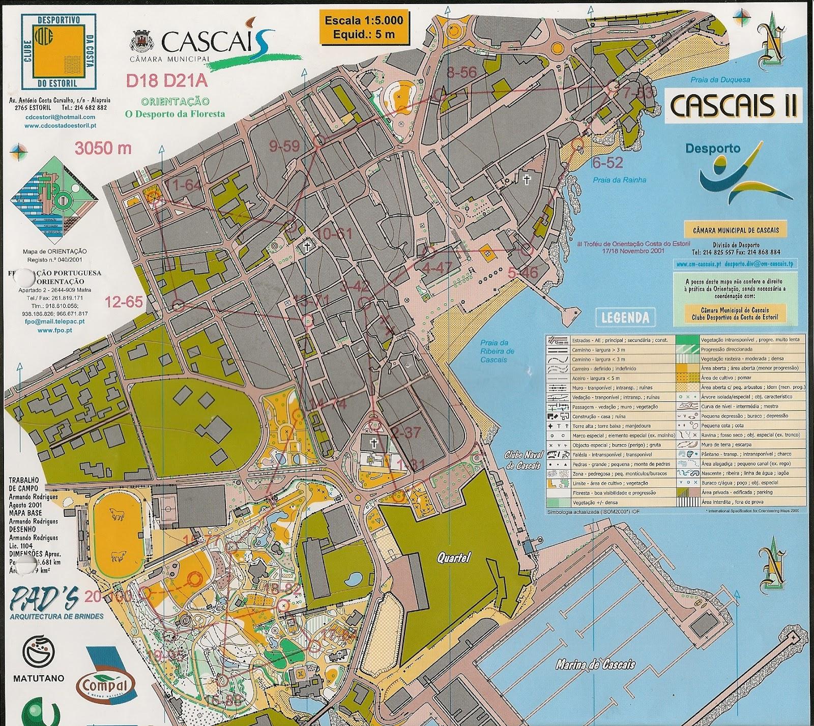 mapa de cascais centro Orienta Bonito: Um Sábado agradável   Cascais mapa de cascais centro