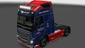 JJ Bartlett Volvo skin & trailer for Volvo 2012