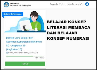 Belajar Konsep Literasi Membaca Dan Numerasi