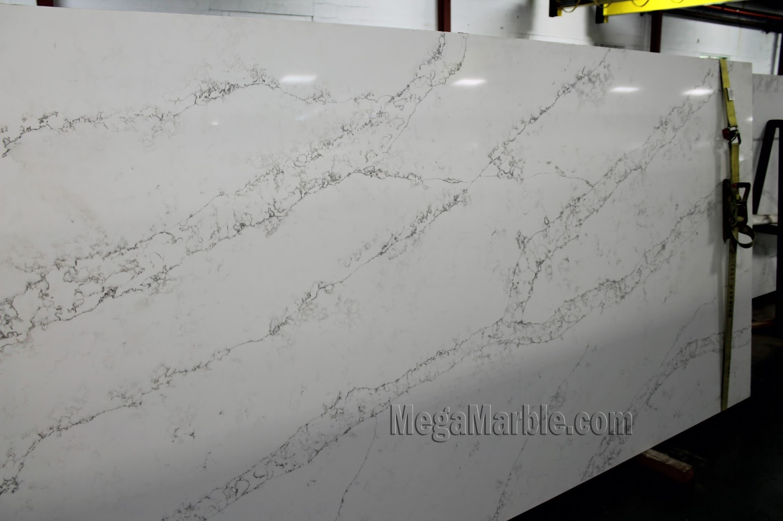 White Quartz Slab Countertops Countertop CT