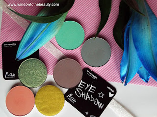 Melkior eyeshadows swatches opinion review