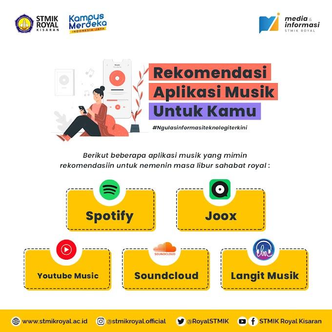 Rekomendasi 5 Aplikasi Untuk Mendengarkan Musik