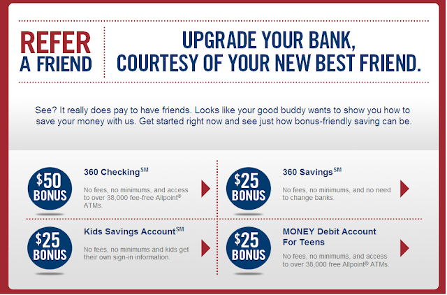 Capital One 360 Account Referral Bonus Link