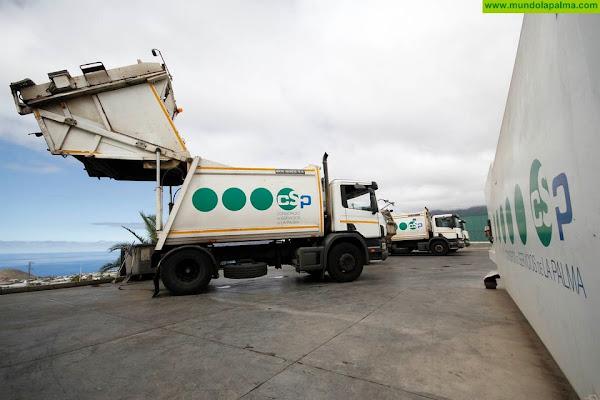 El Consorcio reorganiza en Año Nuevo el horario de recogida de residuos domésticos