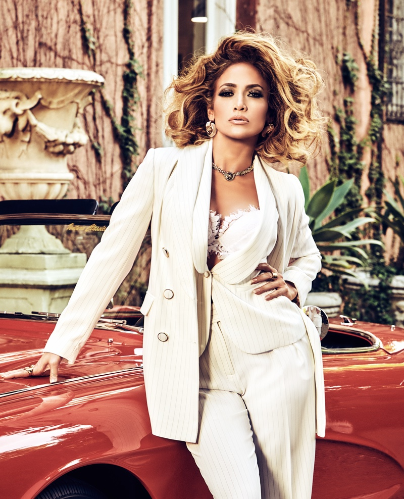 Jennifer Lopez is a Bombshell in Guess Spring 2020 Campaign