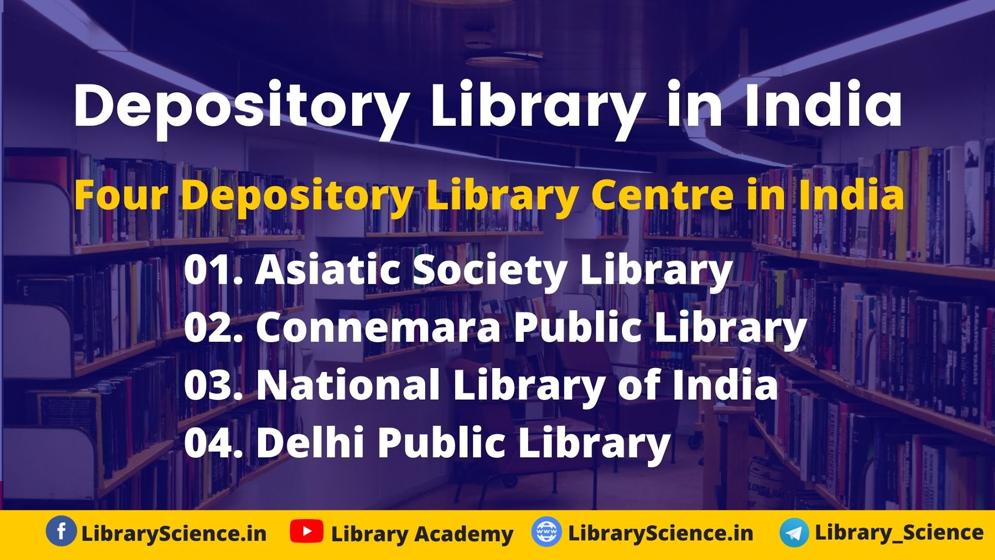 Depository Library in India