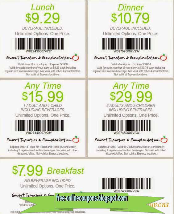 Souplantation Promo Codes & Holiday Coupons for December, Save with 3 active Souplantation promo codes, coupons, and free shipping deals. 🔥 Today's Top Deal: Get 20% Off On Your Order. On average, shoppers save $26 using Souplantation coupons from bounddownloaddt.cf