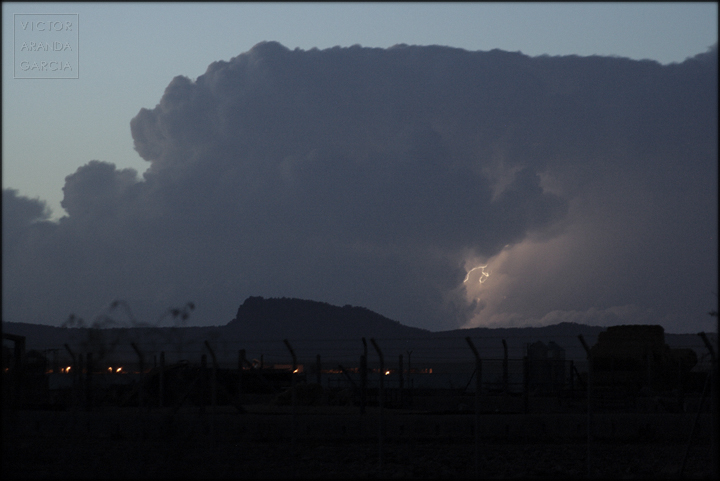 fotografia,rayo,tormenta,murcia,paisaje,nubes,relampago